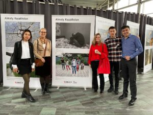 Participants from Kazakhstan with AFEW International